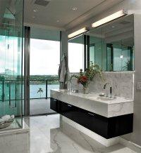 25 banheiros com mrmore para voc se inspirar - limaonagua