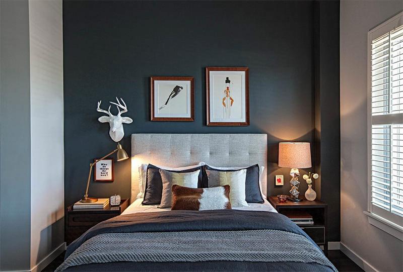 Black White Modern Wallpaper 20 Quartos Lindos Com As Paredes Pretas Para Voc 234 Se