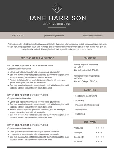 Resume Examples for Job Seekers in Any Industry - LimeResumes - creative director resume samples