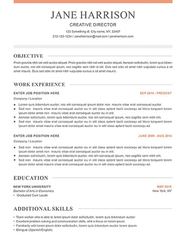 Resume Examples for Job Seekers in Any Industry - LimeResumes - what should a resume look like