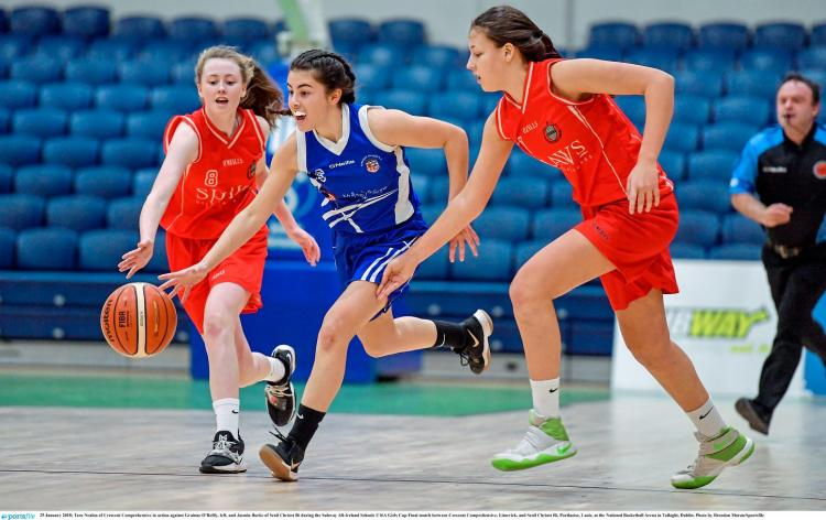 WATCH: Limerick's Crescent College lose All Ireland ...