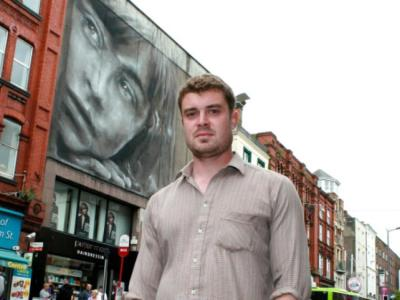 Guido brings 'mystery girl' portrait to life on Limerick ...