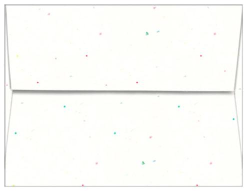 Astrobrights Stardust White 60# A2 Envelope - envelope a2