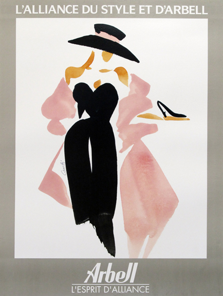New York Fashion Week  Vintage Fashion Advertising Posters