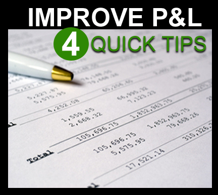 PL Statement Tips - Improve PL Statement