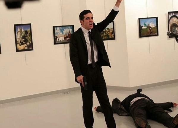 مصرع سفير روسيا في انقره وكيف شلت قوات الامن التركية حركته الاثنين 19 ديسمبر