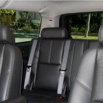 Interior SUV limo CT photo