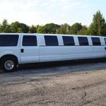 Ford Excursion Limo in CT image