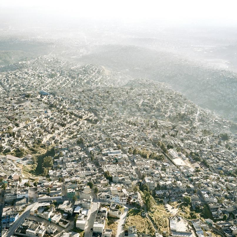 Vista-Aerea-de-la-Ciudad-de-Mexico-XXIII,-2006