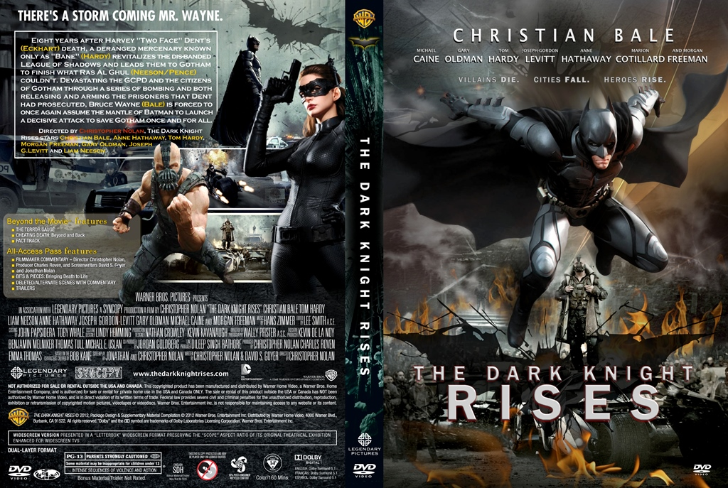 Dark Knight Rises Dvd Cover The Dark Knight Rises-2012-dvd