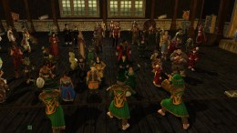 The Songburrow Strollers play at the Breelands Autumn Ball