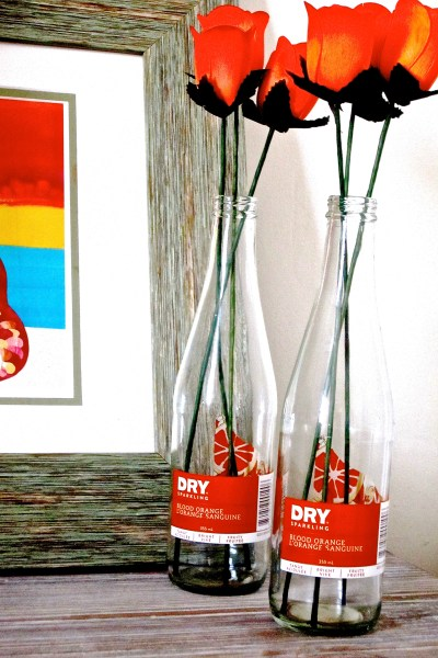 Repurposed Bottles. A Simple Idea For Any Room.