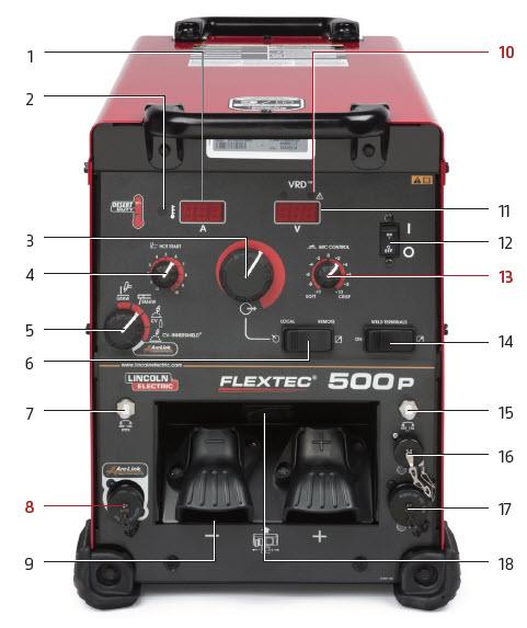 Flextec® 500P Multi-Process Welder w/ VRD®