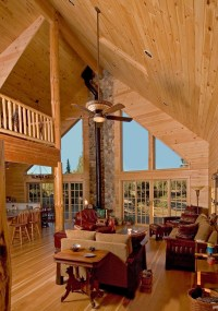 Cathedral Ceilings : The Original Lincoln Logs