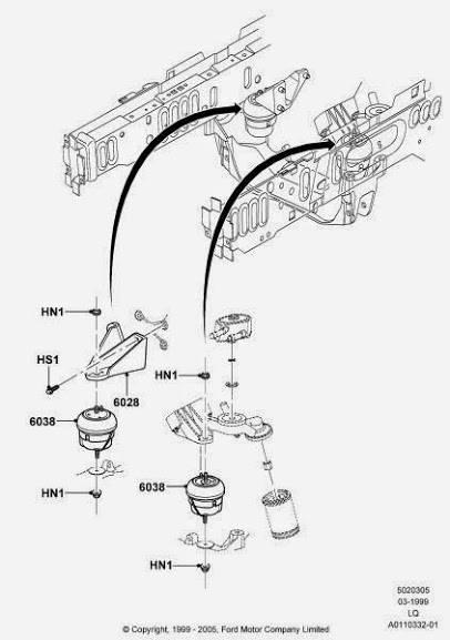 2000 jaguar s type power steering pump location 2000