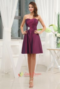 Dark Purple Bridesmaid Dresses Summer Wedding,Purple ...