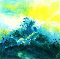 Ocean Painting Abstract Art for Sale - Original Artwork of ...