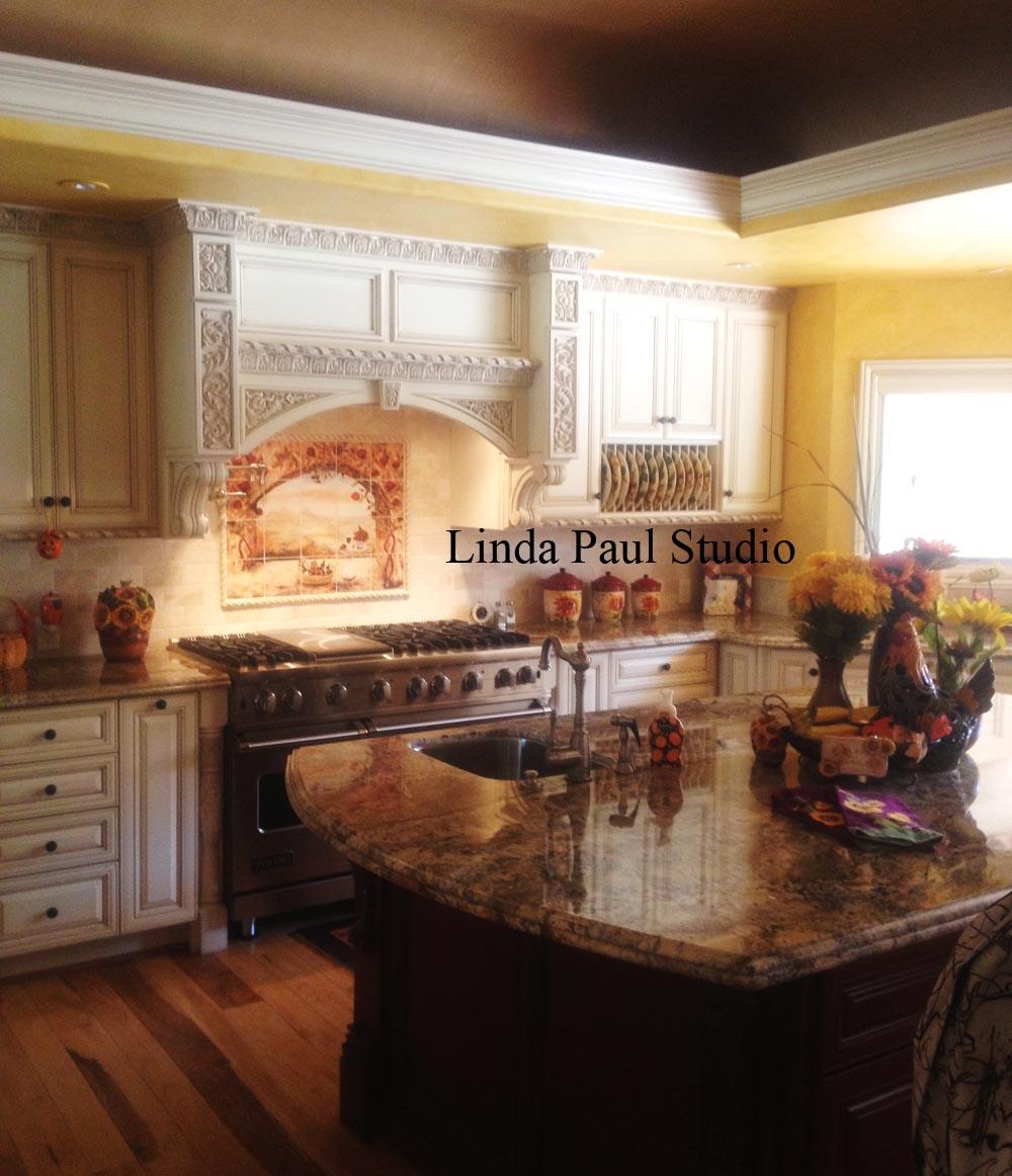 custom wall murals tile kitchen backsplashes backsplash kitchen splash wine and roses in custom kitchen