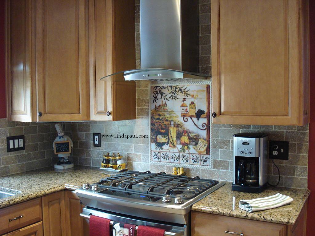 Tuscan design Kitchen Tile Backsplash kitchen backsplash tiles