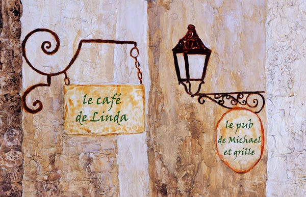 French Wall Decor Canvas Wall Art Pictures Of France Bistro