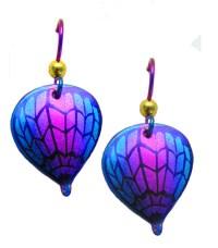 LindaRae Jewelry - Niobium Hot Air Balloon Earrings