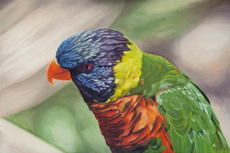 parrot \u2013 Linda Richter, painter