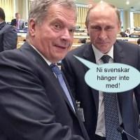 Sverige hänger inte med
