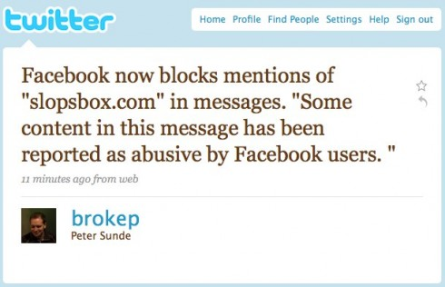 Twitter _ Peter Sunde_ Facebook now blocks mentio ...