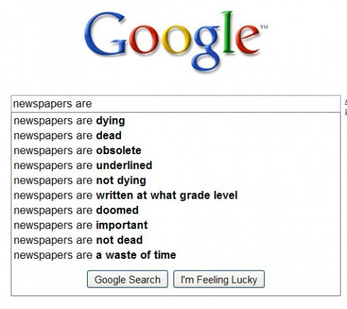 google-newspapers-are