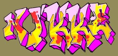Graffiti: Nikke - http://www.mindgem.nu/graffiti.html