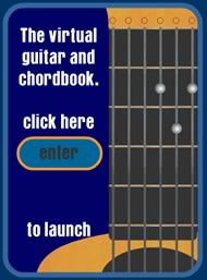 Guitar chord illustration: chordbook.com - At chordbook.com you find one of the best interactive chord books I have ever seen.