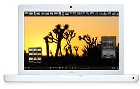 MacBook: Apple Computer Inc - MacBook finns i vitt också.