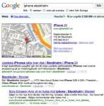 iphone stockholm - Google-sokning