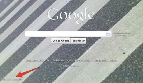 Så här tar du bort bakgrundsbilden från Google