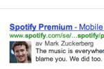 Har Mark Zuckerberg börjat skriva åt Spotify?