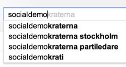 socialdemokraterna sökförslag 2013-03-07