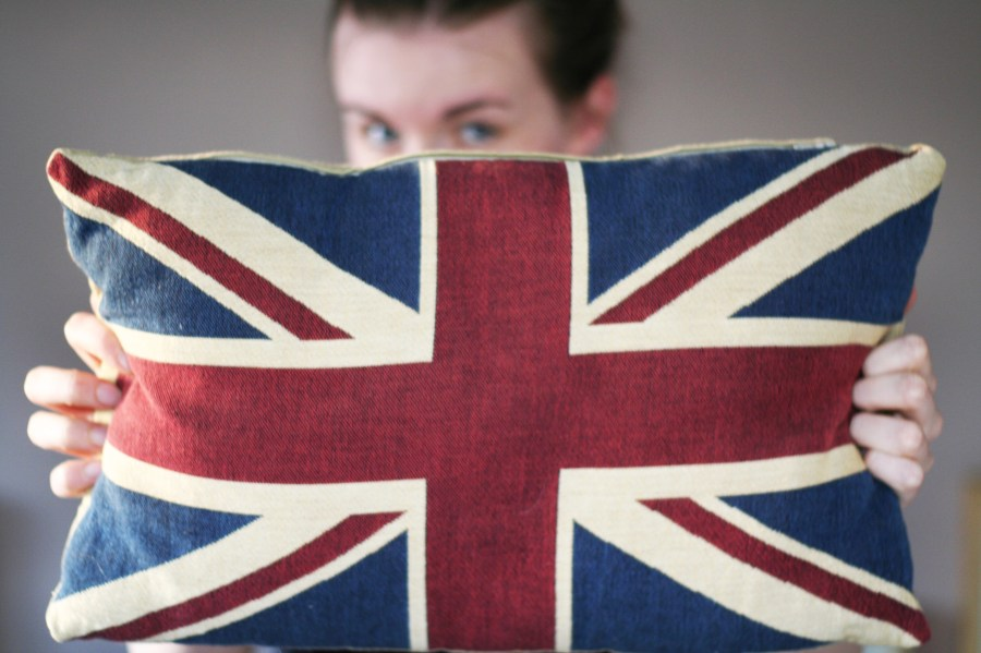 gb union jack flag cushion lindsay does languages blog