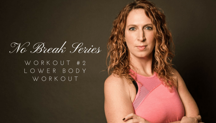 15-Minute No Break Lower Body Workout