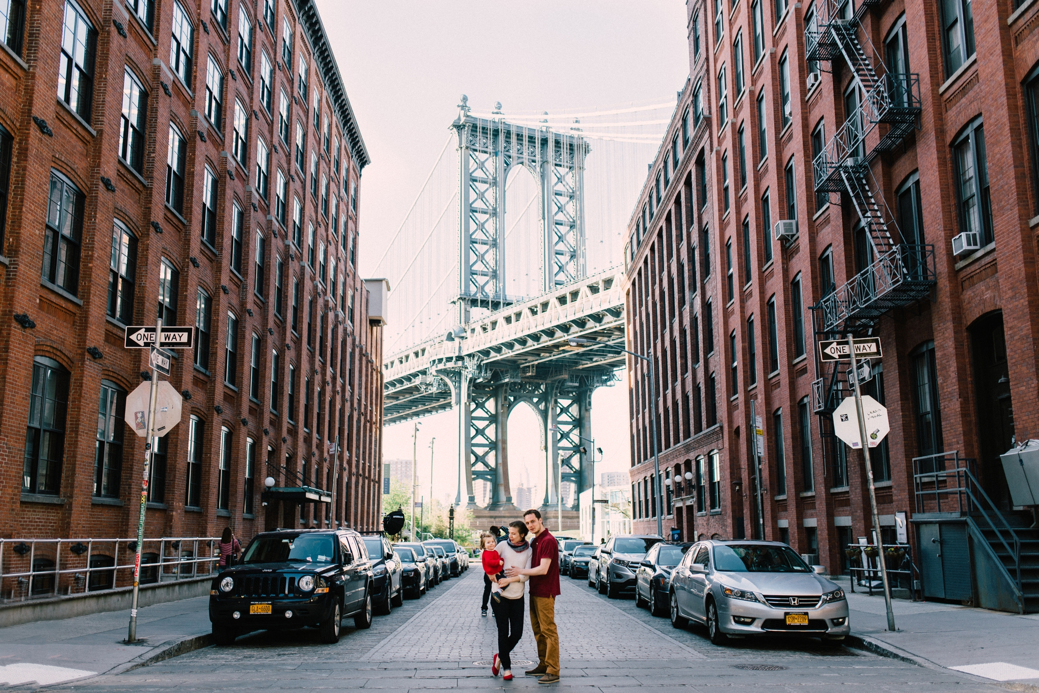 Couple Fall Wallpaper The Van Beemens Dumbo Family Session Brooklyn Family