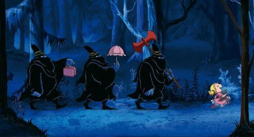 Barnbio Tre rövare
