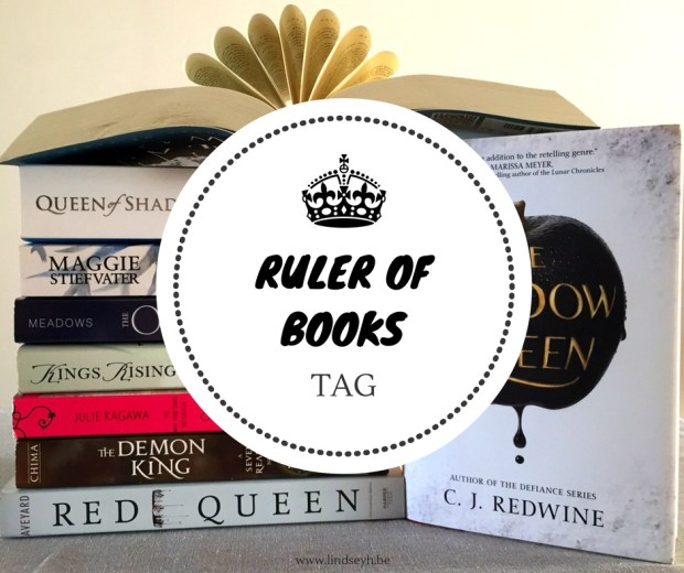 160818 Ruler of Books Tag