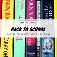 Back To School - Favorite Books Set in School {Top Ten Tuesday}