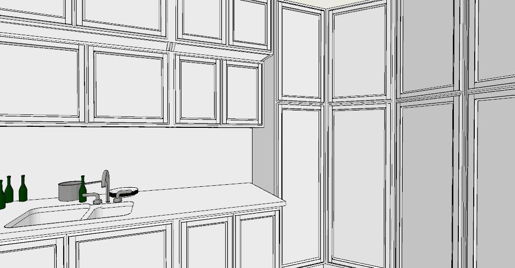 6 regole per una cucina perfetta lineatre arredamenti - Cucina 3 metri angolare ...