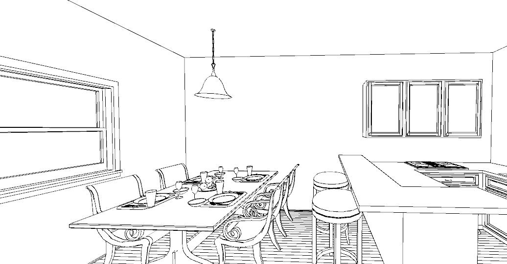 Una penisola in cucina lineatre arredamenti - Altezza isola cucina ...