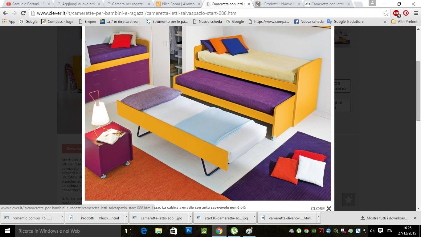 Camerette attrezzate la camera per ragazzi capitolo 5 - Subito it divano letto ...