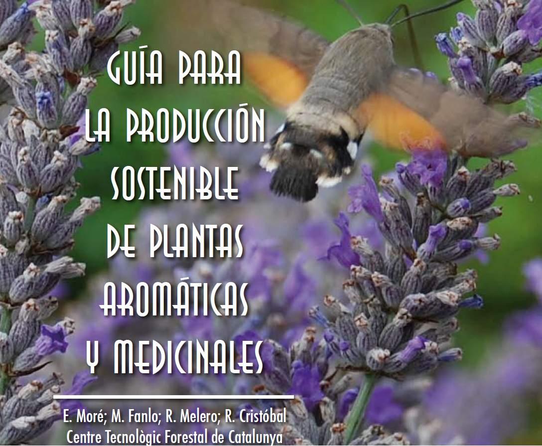 Guía para la producción sostenible de plantas aromáticas y medicinales E. Moré; M. Fanlo; R. Melero; R. Cristóbal Centre Tecnològic Forestal de Catalunya