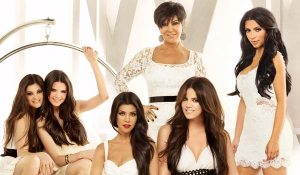 "Le protagoniste della serie ""Keeping Up with The Kardashians"""