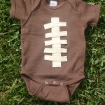 Football Onesie Giveaway {closed}