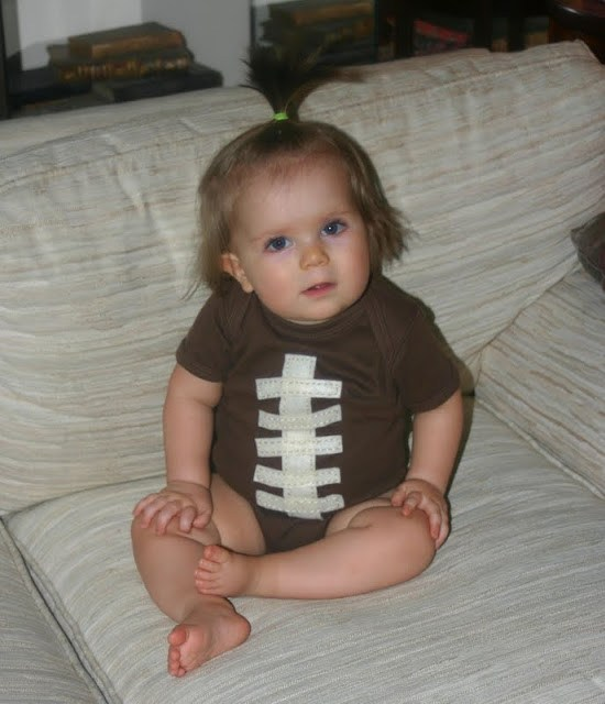 Infant Football Onesie by Lines Across