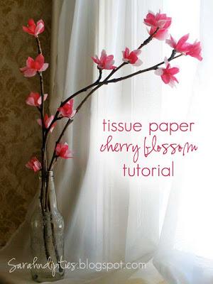 12 Gorgeous Tissue Paper Flower Tutorials Lines Across